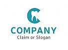 Modernes Logo, Zahnarzt, Zahnmedizin, Dental, Dentallabor, Buchstabe C