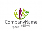 Logo Frau, Wellness