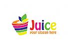 Säfte, Getränke, Obst Logo