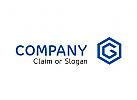 Modernes Logo, Buchstabe G