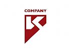 Modernes Logo, Buchstabe K