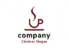 Modernes Logo, Café