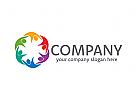Gruppe, Menschen Logo