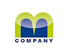 Logo abstrakt m