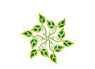 Logo Bl�tterblume