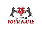 Logo f�r Pferdehof, Reiterhof, Pferdezucht, Pferd