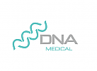 DNA, Gene, Analyse, Labor Logo