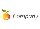 Obst, Apfel und Lächeln, Ernährungsberatung Logo