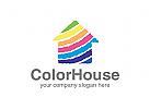 Malerei Logo, Maler, Farbe