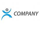 Person in Bewegung Logo