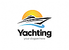 Jacht, Schiff, Kreuzfahrt, Urlaub, Sport, Boot, Logo