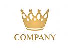 Krone Logo, Golden Crown