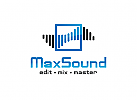 Ton, Musik, Equalizer, Quadrat, Platz, Feld, Viereck Logo