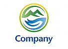 Gebirge See Logo
