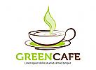Heißer Kaffee in Tasse
