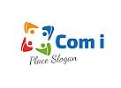 logo Gruppe, logo Coaching, logo beratungsstelle, logo kinder gruppe,