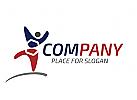 logo social media, logo internet, logo eine person, logo logistik