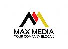 Buchstabe M Logo, Zahl M, Industrie, Bau