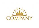 Menschen Logo, Gruppen, Krone Logo