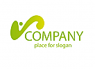 logo abstrakt, logo eine person, logo coaching, logo wellness