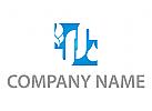 Feuer und Wasser, Klempner Logo