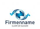 Logo Reinigung, Wasser
