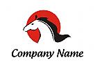 Pferd Logo, Horse Logo