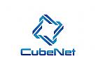 Technologie Logo, Internet, Computer