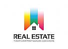 Immobilien Logo, Geb�ude, Architektur, Geb�ude, Haus, Bauwerk