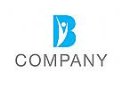 Logo, Mensch, Arztpraxis, Buchstabe, B