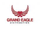 Adler Logo, Fl�gel, Flug