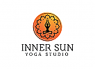 Yoga Logo, Wellness, Massage, Kosmetik