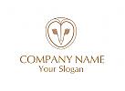 Eulen Logo.  F�r ein Kosmetik Unternehmen.