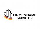 Immobilien Logo, Deutsch