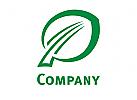 Buchenblatt Natur Logo