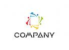 Vier Farben Logo