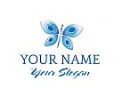 Schmetterling Logo .  F�r die Entspannungsp�dagogin !