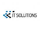 Technologie Logo, Software, digital, netz