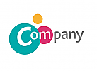 logo abstrakt, logo dienstleistung