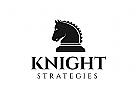 Ritter Logo, Pferd, Strategie, Finanzen, Bank