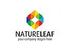 natur Logo, blatt, Medien, Technologie