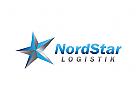 nord Logo, stern, Nordstern, Logistik, Transport, Eis