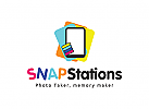 Snap, Kamera, Foto, selbst, Handy Logo