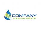 Reinigung Logo, Hygiene, Pflege, Wasser, Shampoo
