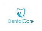 Zahn Logo, Zahnarzt, Medizin