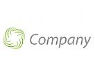 Linien, Wellen, Spirale Logo