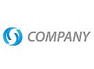Wellen, Halbkreise Logo