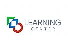 Kreis, W�rfel, Dreieck, Lernen Logo, Schule, Geometrie