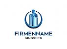 Ö Logo Immobilien, Architektur, Gebäude, Bau