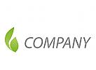 Pflanze, Bl�tter Logo